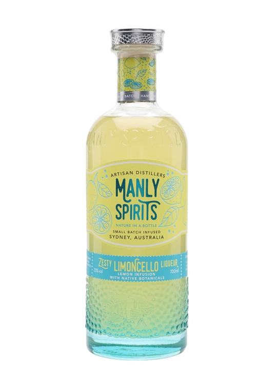 Manly Spirits Zesty Limoncello Liqueur