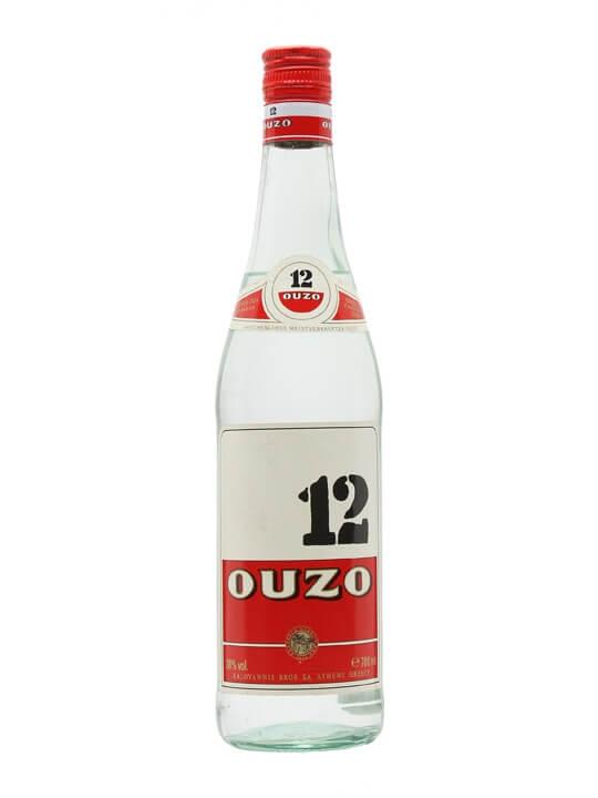 Ouzo 12 Liqueur / Bot.1990s