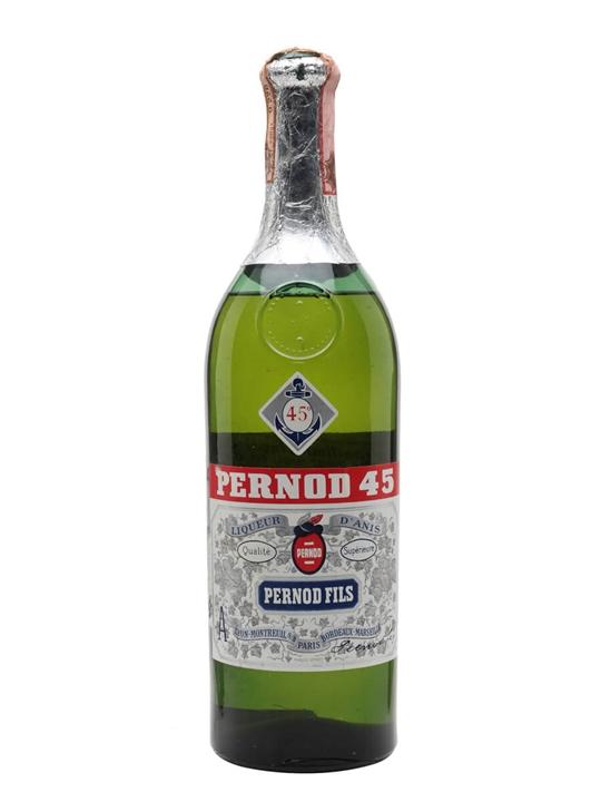 Pernod 45 Liqueur / Bot.1960s