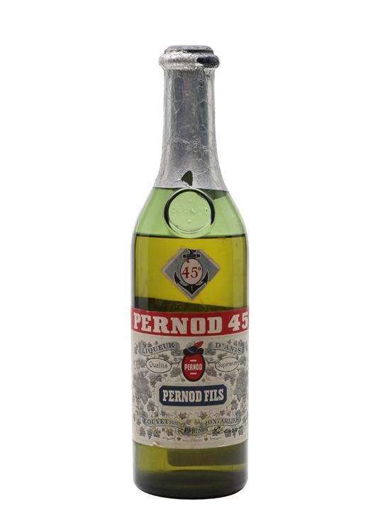 Pernod 45 Liqueur / Bot.1950s