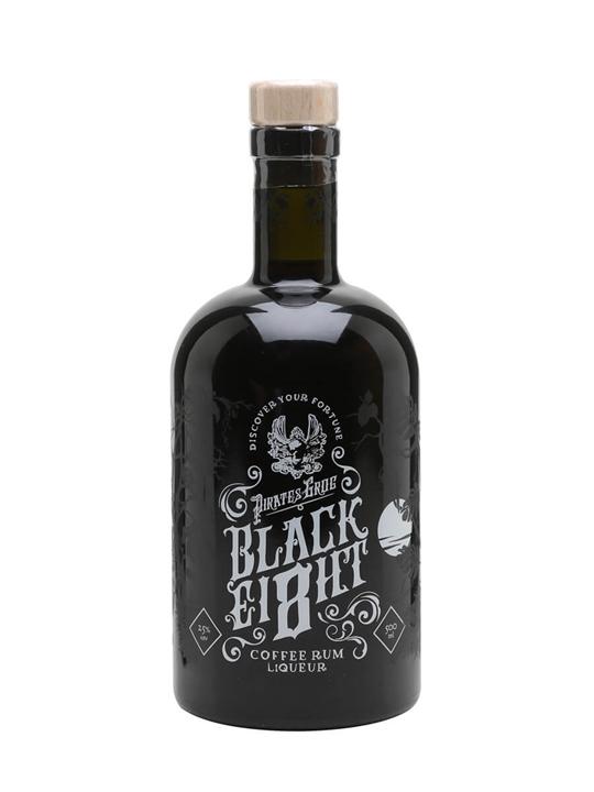 Pirate's Grog Black Ei8ht Coffee Rum Liqueur