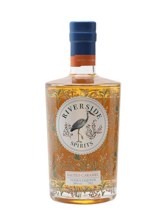 Riverside Spirits Salted Caramel Vodka Liqueur