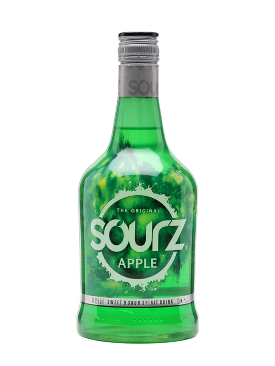 Click to view product details and reviews for Sourz Apple Liqueur.