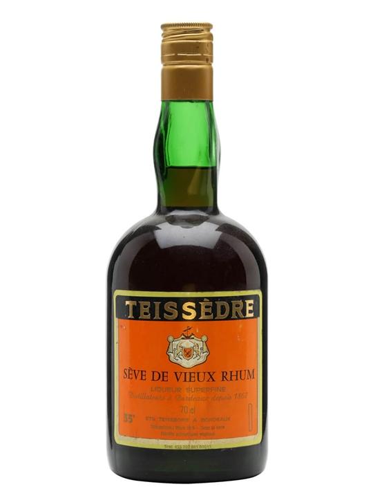 Teissedre Liqueur / Seve de Vieux Rhum / Bot.1990s