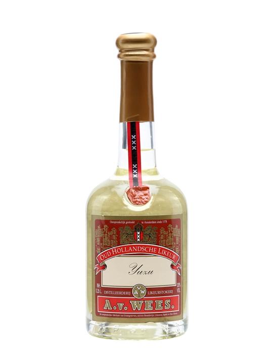 Van Wees Yuzu Liqueur / Half Bottle