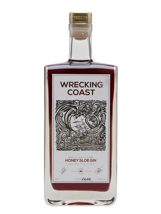 Wrecking Coast Honey Sloe Gin Liqueur