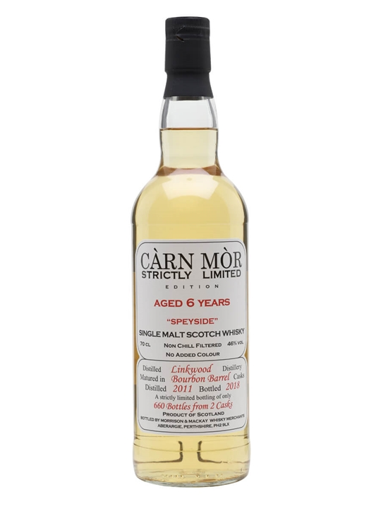 Linkwood 2011 / 6 Year Old / Carn Mor Strictly Limited Speyside Whisky
