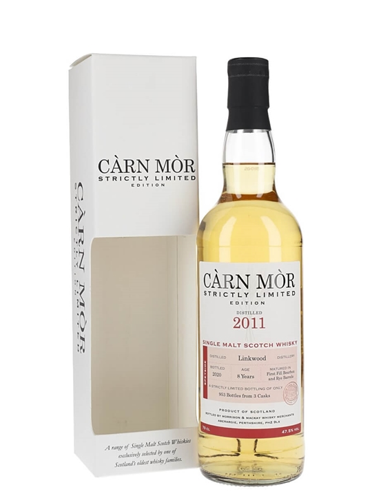 Linkwood 2011 / 8 Year Old / Carn Mor Speyside Whisky