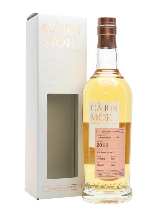 Linkwood 2011 / 9 Year Old / Carn Mor Speyside Whisky