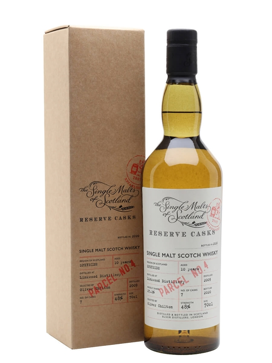 Linkwood 10 Years Old / Reserve Cask - Parcel No.4 Speyside Whisky
