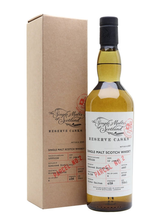 Linkwood 2007 / 12 Year Old / Reserve Cask - Parcel No.2 Speyside Whisky