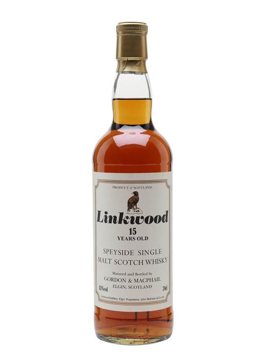 Linkwood 15 Year Old / Gordon & Macphail Speyside Whisky