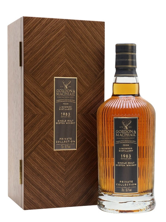 Linkwood 1983 / Private Collection / Gordon & Macphail Speyside Whisky