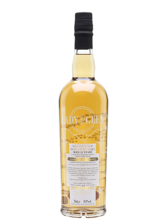 Linkwood 2006 /12 Year Old / Px / Lady Of The Glen Speyside Whisky