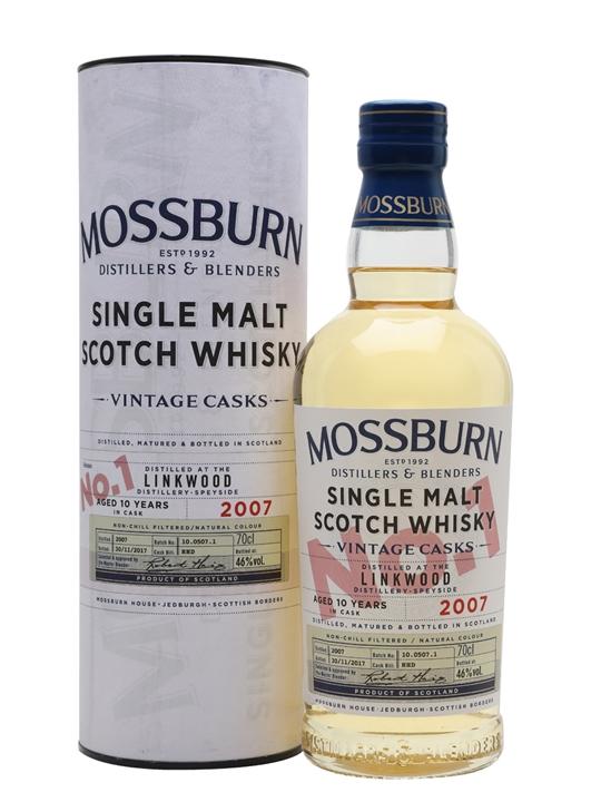 Linkwood 2007 / 10 Year Old / Vintage Casks #1 / Mossburn Speyside Whisky