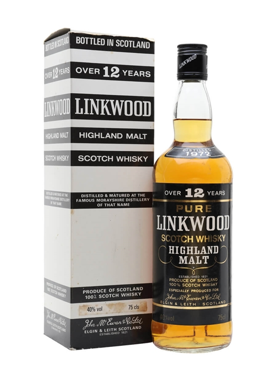 Linkwood 1972 / 12 Year Old Speyside Single Malt Scotch Whisky