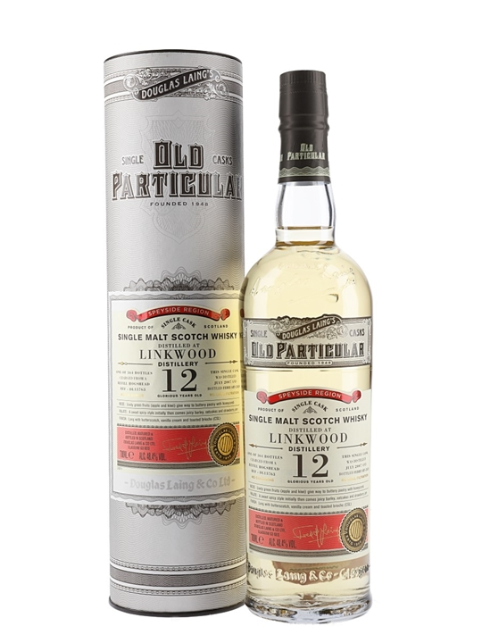 Linkwood 2007 / 12 Year Old / Old Particular Speyside Whisky