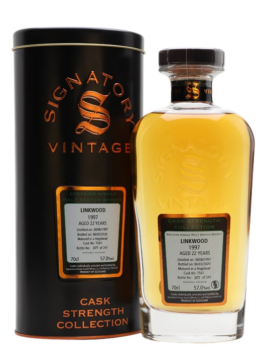 Linkwood 1997 / 22 Year Old / Signatory Speyside Whisky