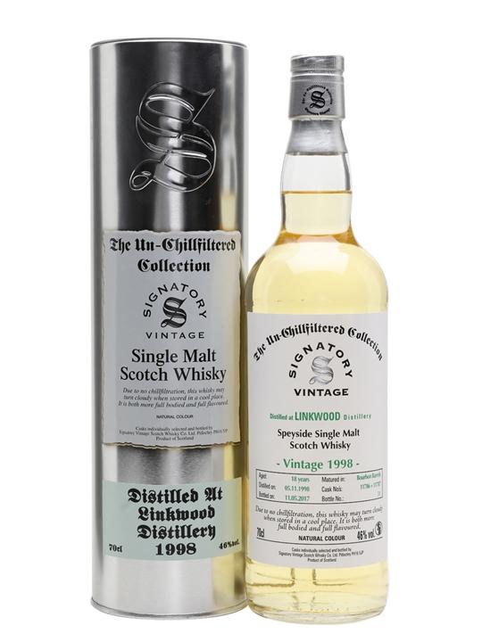 Linkwood 1998 / 18 Year Old / Signatory Speyside Whisky