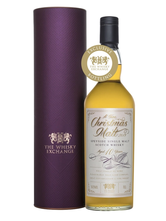 Christmas Malt 2019 / 10 Year Old Speyside Single Malt Scotch Whisky