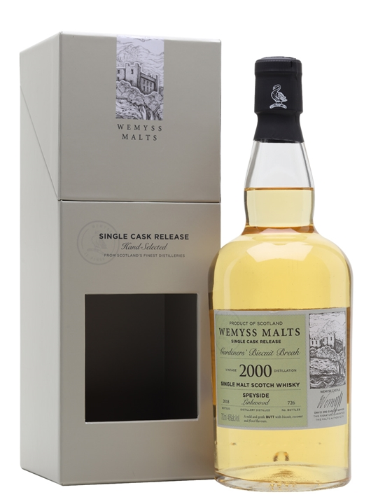 Linkwood 2000 / Gardeners' Biscuit Break / Wemyss Speyside Whisky