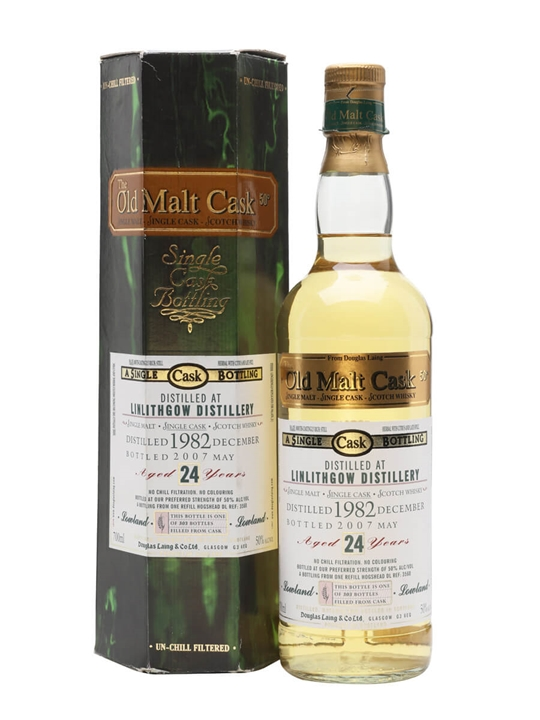 Linlithgow 1982 / 24 Year Old / Old Malt Cask Lowland Whisky