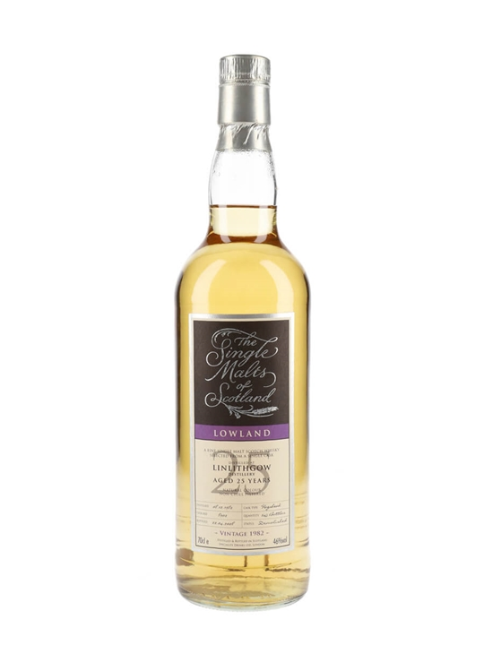 Linlithgow 1982 / 25 Year Old / Smos Lowland Single Malt Scotch Whisky