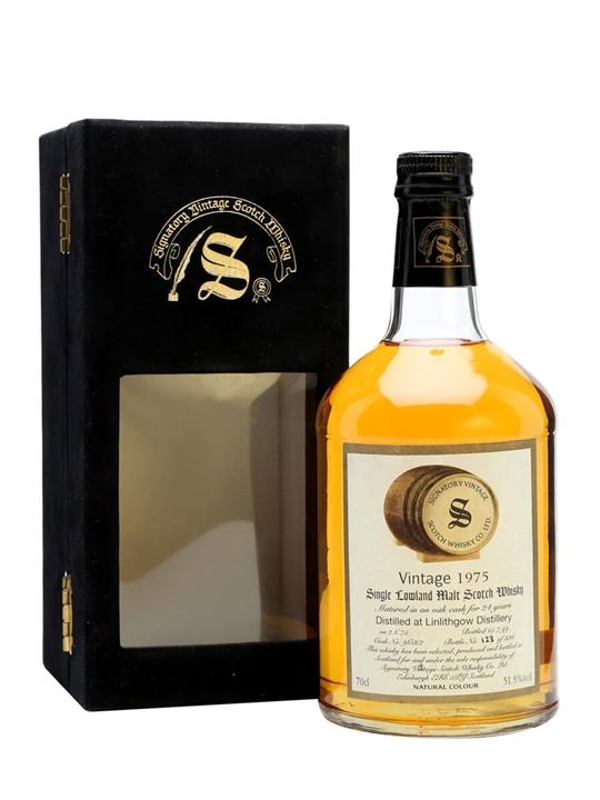Linlithgow 1975 / 24 Year Old / Signatory Lowland Whisky