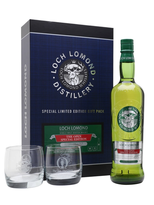 Loch Lomond The Open Special Edition / Glass Pack Highland Whisky