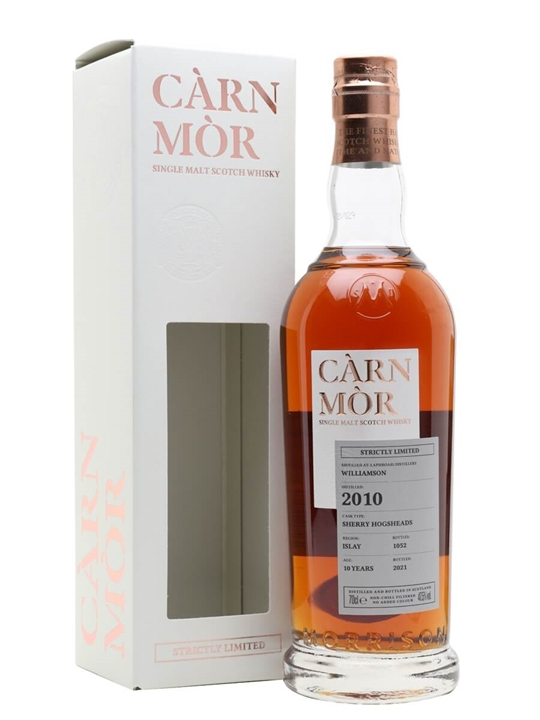 Williamson 2010 / 10 Year Old / Sherry Cask / Carn Mor Strictly Limited Islay Whisky