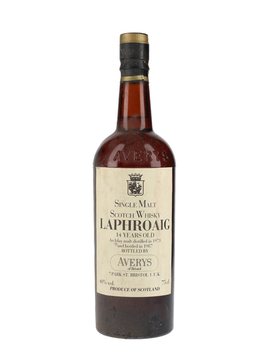 Laphroaig 1973 / 14 Year Old / Averys Islay Single Malt Scotch Whisky