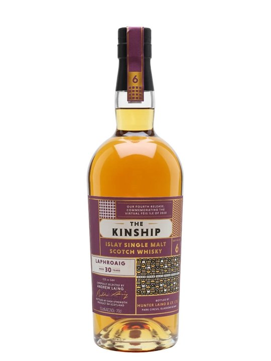 Laphroaig 1990 / 30 Year Old / Edition #6 / The Kinship Islay Whisky