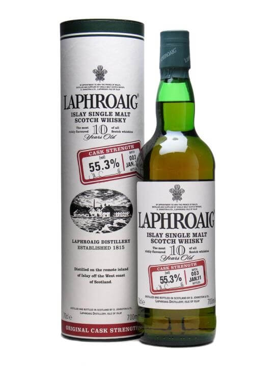 Laphroaig 10 Year Old Cask Strength  Batch 003  Bot.2011 Islay Whisky