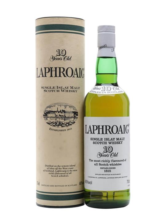 Laphroaig 10 Year Old / Bot.1990s Islay Single Malt Scotch Whisky