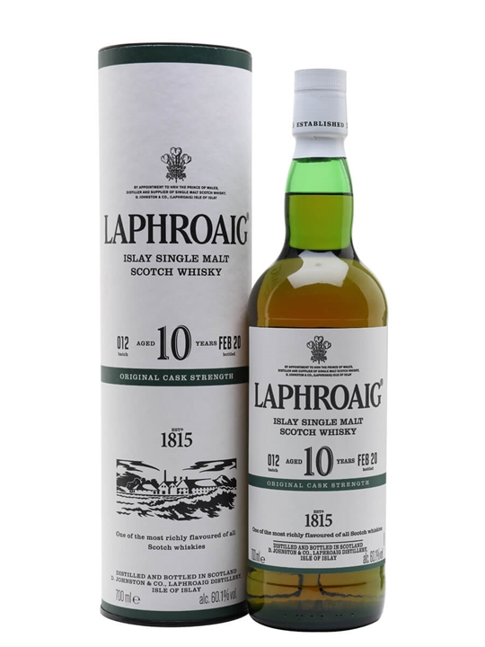 Laphroaig 10 Year Old / Cask Strength / Batch 012 / Bot.2020 Islay Whisky
