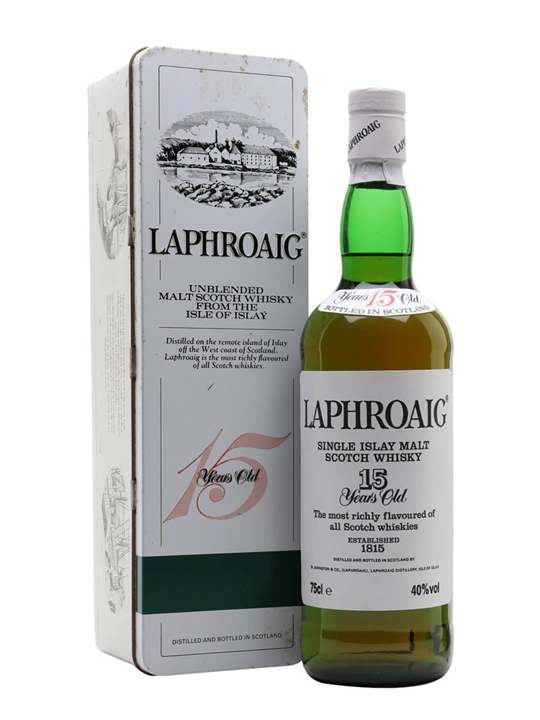 Laphroaig 15 Year Old / Bot.1980s Islay Single Malt Scotch Whisky
