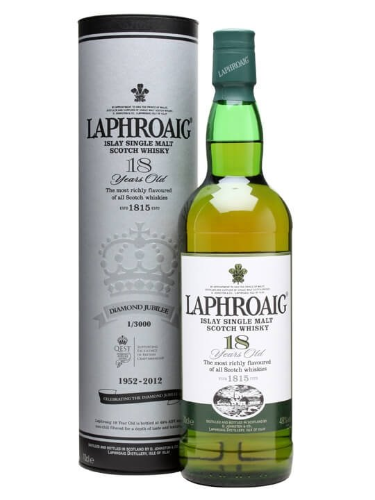 Laphroaig 18 Year Old / Queen's Diamond Jubilee Edition Islay Whisky