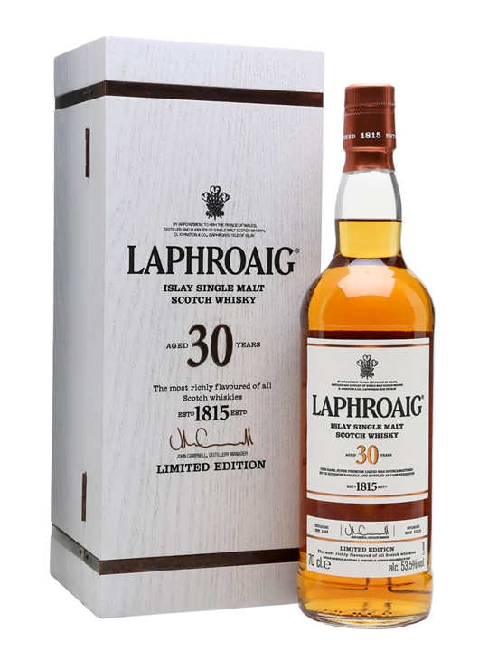 Laphroaig 30 Year Old / Bot.2016 Islay Single Malt Scotch Whisky