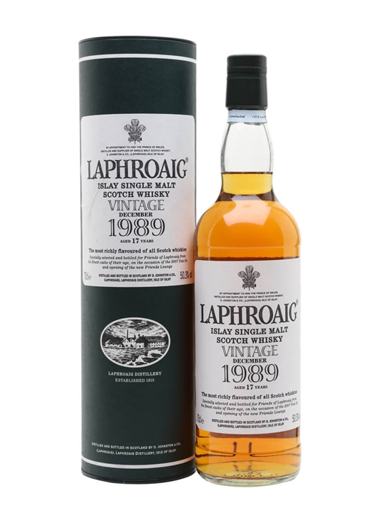 Laphroaig 1989 / 17 Year Old / Islay Fest.2007 Islay Whisky