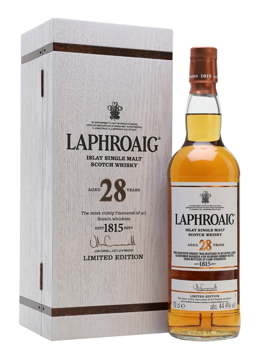 Laphroaig 28 Year Old / Bot.2018 Islay Single Malt Scotch Whisky