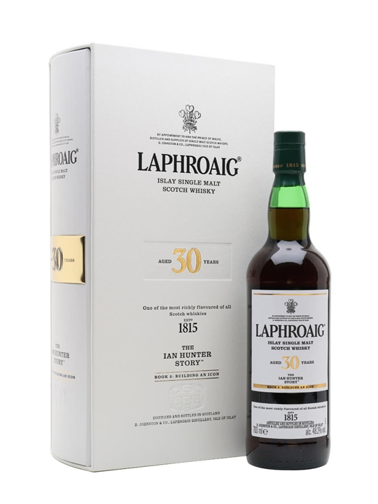 Laphroaig 30 Year Old / The Ian Hunter Story Book 2 Islay Whisky