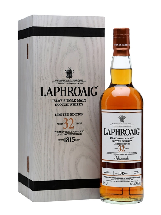 Laphroaig 32 Year Old Islay Single Malt Scotch Whisky