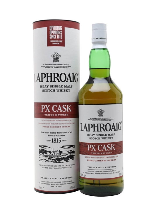 Laphroaig PX Cask / Litre Islay Single Malt Scotch Whisky