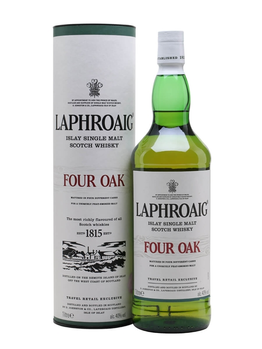 Laphroaig Four Oak Islay Single Malt Scotch Whisky