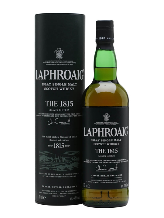 Laphroaig The 1815 Islay Single Malt Scotch Whisky