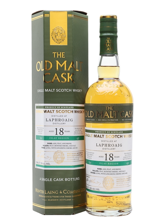 Laphroaig 2001 / 18 Year Old / Old Malt Cask Islay Whisky