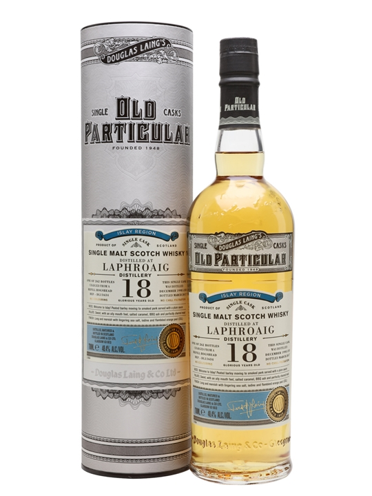 Laphroaig 1998 / 18 Year Old / Old Particular Islay Whisky