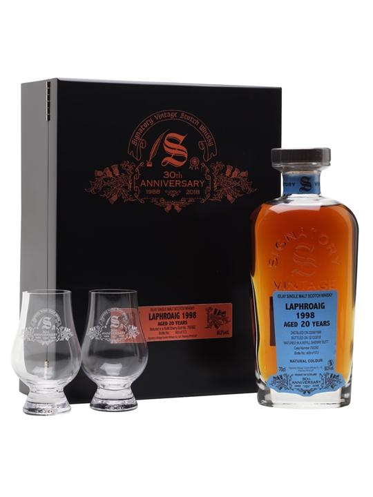 Laphroaig 1998 / 20 Year Old / Signatory 30th Anniversary Islay Whisky