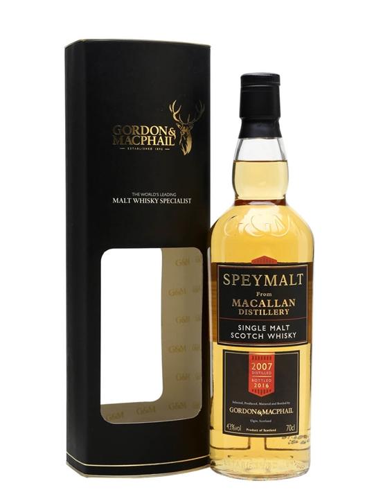 Macallan 2007 / Bot.2016 / Speymalt Speyside Single Malt Scotch Whisky