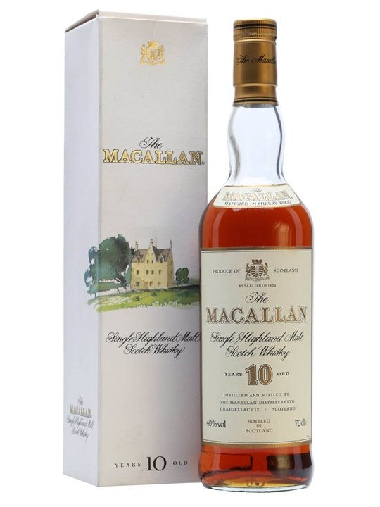 Macallan 10 Year Old / Sherry Cask / Bot.1980s Speyside Whisky